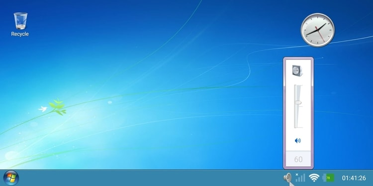 Windows 7 Launcher for Tablet
